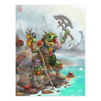 battle cry postcard