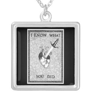 Battle Cry Silver Plated Necklace