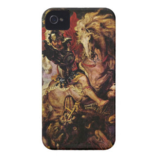 Battle detail by Paul Rubens iPhone 4 Cases
