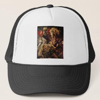 Battle detail by Paul Rubens Trucker Hat