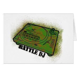 battle dj card