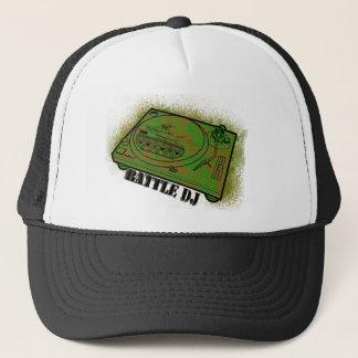 battle dj trucker hat