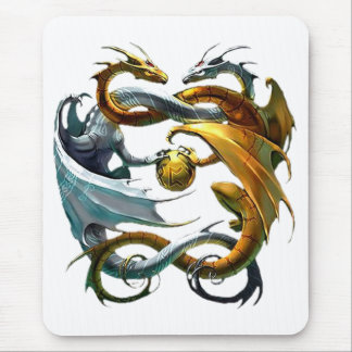 Battle Dragons Mouse Pad
