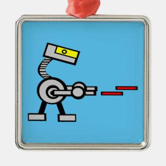 Battle Droid Metal Ornament