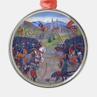 Battle English vs. French Ornament