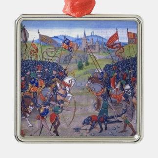 Battle English vs. French Ornaments