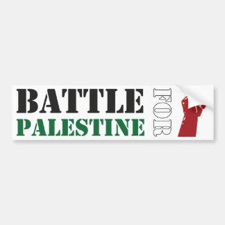 Battle for Palestine Bumper Stickers
