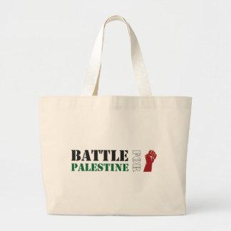 Battle for Palestine Large Tote Bag