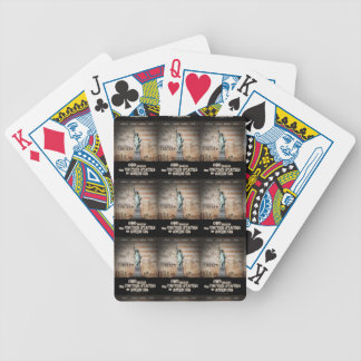 Battle For Religious Liberty Bicycle Playing Cards