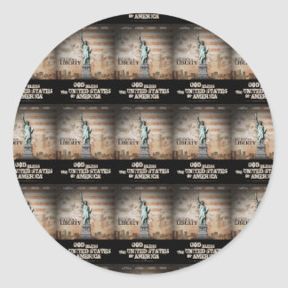 Battle For Religious Liberty Classic Round Sticker