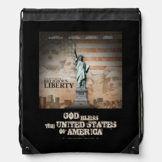 Battle For Religious Liberty Drawstring Backpack
