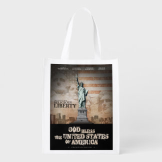 Battle For Religious Liberty Grocery Bags
