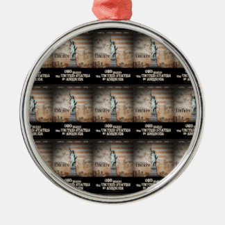 Battle For Religious Liberty Metal Ornament