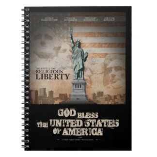 Battle For Religious Liberty Spiral Notebook