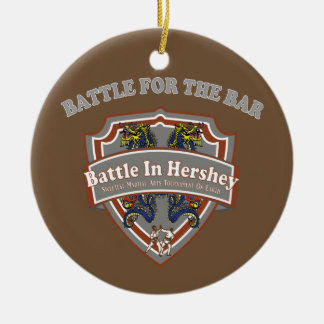 Battle for the Bar Ornament
