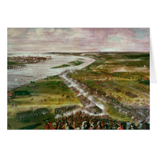 Battle for the Crossing of the Dvina, 1701 Card