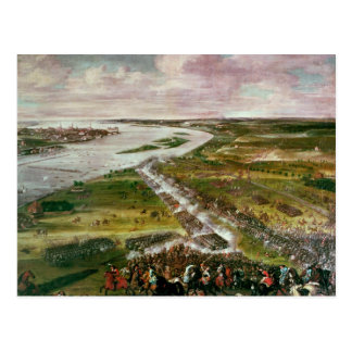 Battle for the Crossing of the Dvina, 1701 Postcard