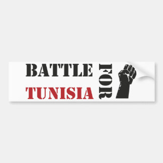 Battle for Tunisia Bumper Sticker