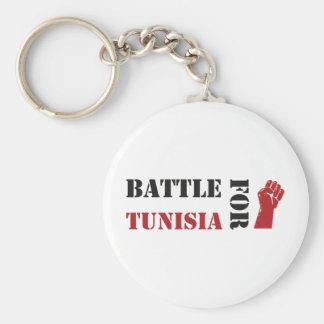 Battle for Tunisia Keychain