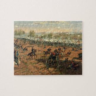 Battle Gettysburg Hancock at Gettysbug Thulstrup Jigsaw Puzzles