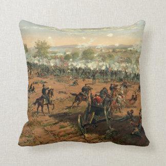 Battle Gettysburg Hancock at Gettysbug Thulstrup Throw Pillow