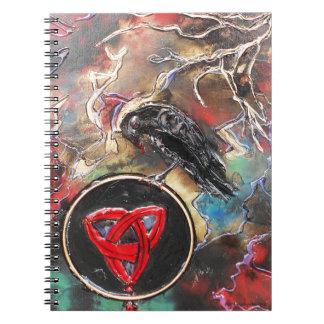 Battle Goddess Spiral Notebook