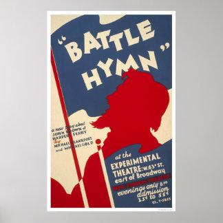 Battle Hymn Harpers Ferry 1938 WPA Poster