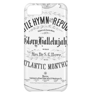Battle Hymn of the Republic Music Cover Sheet iPhone 5C Case