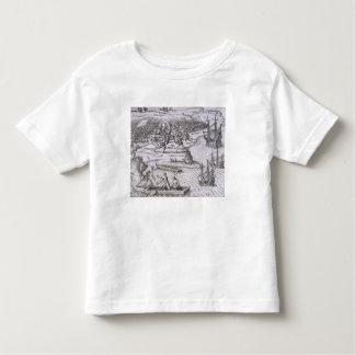 Battle in Jamaica between Christopher Columbus (14 Tshirt