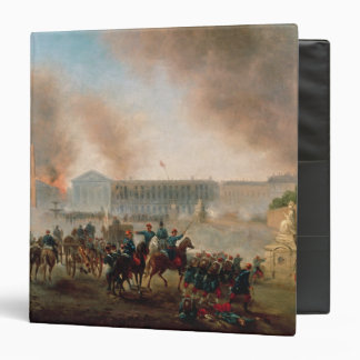 Battle in the Place de la Concorde, 1871 Binder