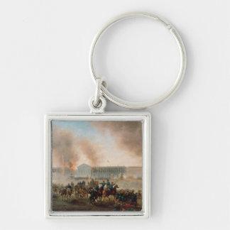 Battle in the Place de la Concorde, 1871 Key Chain