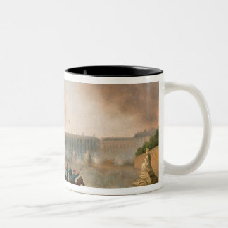 Battle in the Place de la Concorde, 1871 Two-Tone Coffee Mug