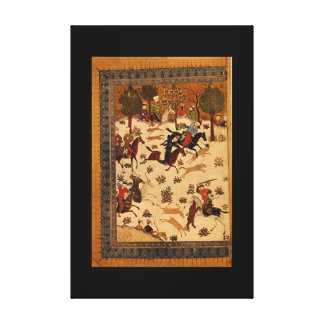Battle in the Presence of_The Orient Canvas Print