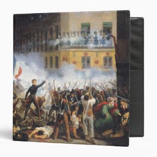 Battle in the rue de Rohan, 28th July 1830, 1831 3 Ring Binder