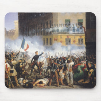 Battle in the rue de Rohan, 28th July 1830, 1831 Mouse Pad
