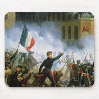 Battle in the Rue de Rohan Mouse Pad