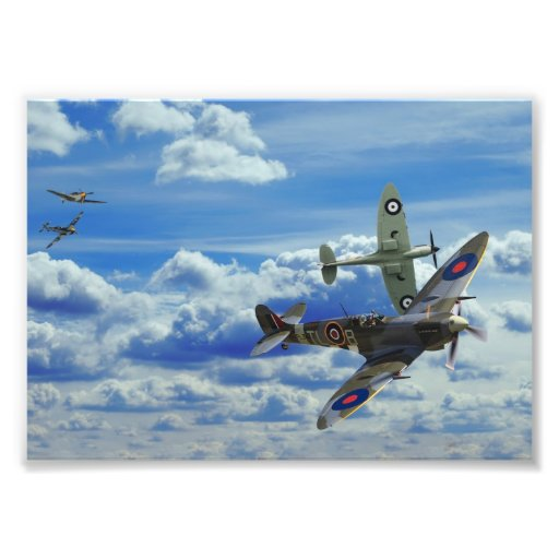 Battle in the Skies Photo Print