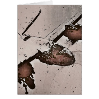 Battle in the Sky WWII Card