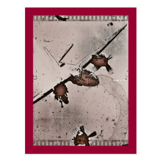 Battle in the Sky WWII Postcard