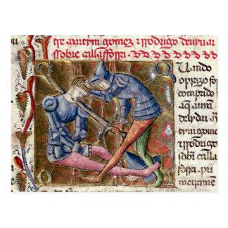 Battle Martin Gomez El Cid  'Chronicles of Postcard