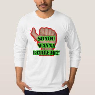 Battle me Fist! T-Shirt