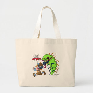 Battle Monster Attacks (Boy Trainer) Tote Bag
