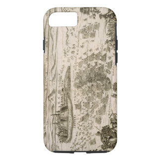 Battle near the Town of Levice in 1664, illustrati iPhone 7 Case