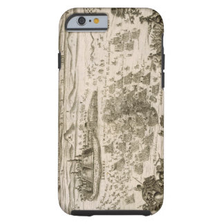 Battle near the Town of Levice in 1664, illustrati Tough iPhone 6 Case