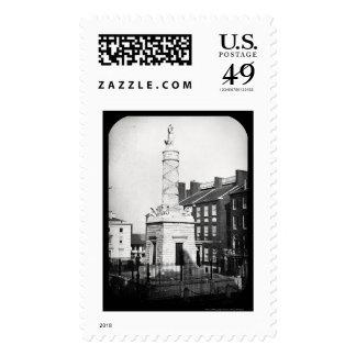 Battle Northpoint Daguerreotype 1846 Stamps