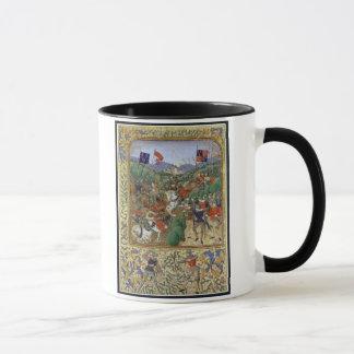 Battle of Agincourt, October 25th 1415 (w/c on pap Mug
