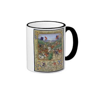 Battle of Agincourt, October 25th 1415 (w/c on pap Ringer Mug