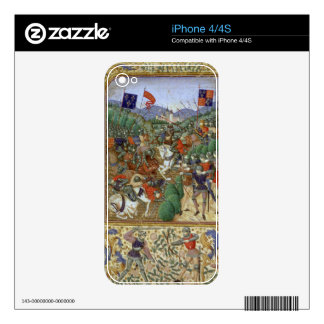 Battle of Agincourt, October 25th 1415 (w/c on pap Skin For The iPhone 4