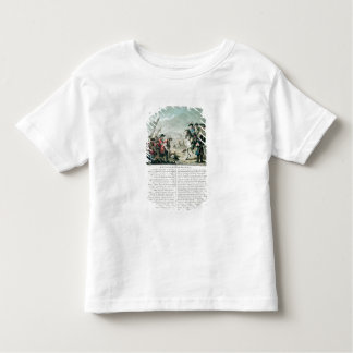 Battle of Almansa, 25th April 1707, engraved by Je T Shirt
