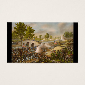 Battle of Antietam--Army of the Potomac: c. 1862 Business Card